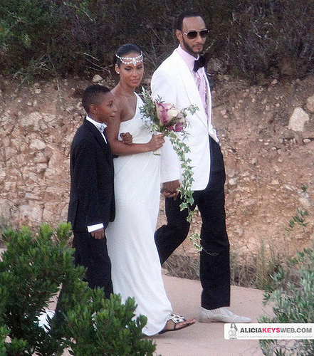 Swizz Beatz Amp Alicia Keys Wedding Photos Rap Radar