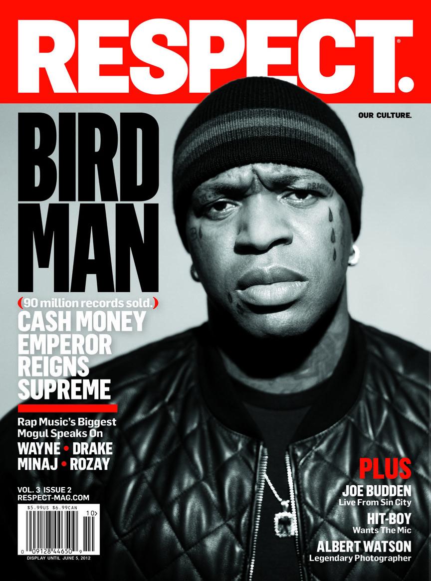 birdman covers respect rap radar