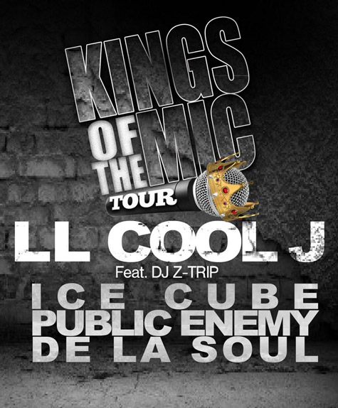 king of the mics tour flyer