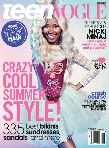 nicki teen vogue