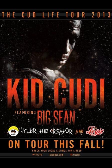 the cudi tour-flyer