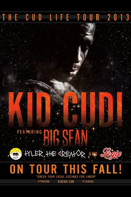 the cudi tour-flyer