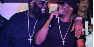 """Diddy And Rick Ross Visit Pink Elephant In New York City"""