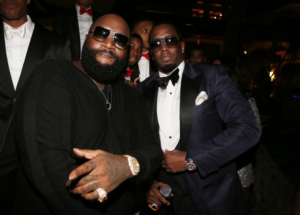 "Sean ""Diddy"" Combs Hosts CIROC The New Year 2014 At Private Miami Estate"