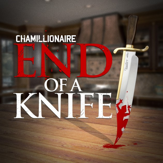 end of the knife