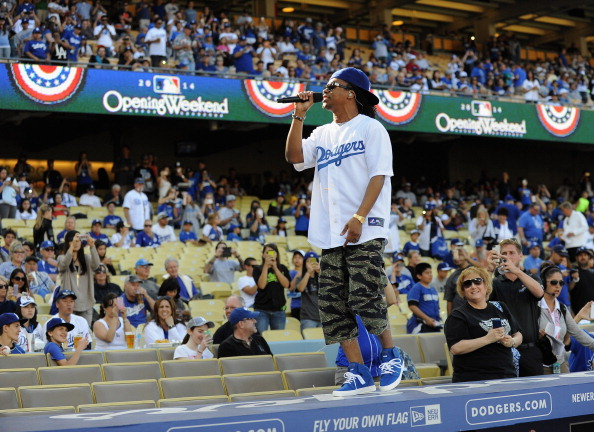 Dodgers Opening Weekend - Lupe Fiasco Concert