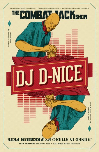 dj d-nice combat