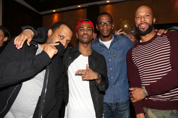Remy Martin V Celebrates Big Sean's 25th Birthday Dinner