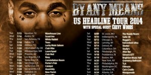 by any means tour